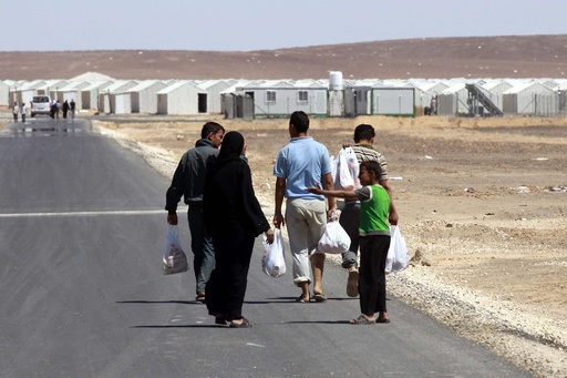 ヨルダンに新たなシリア難民キャンプ開設、世界最大規模