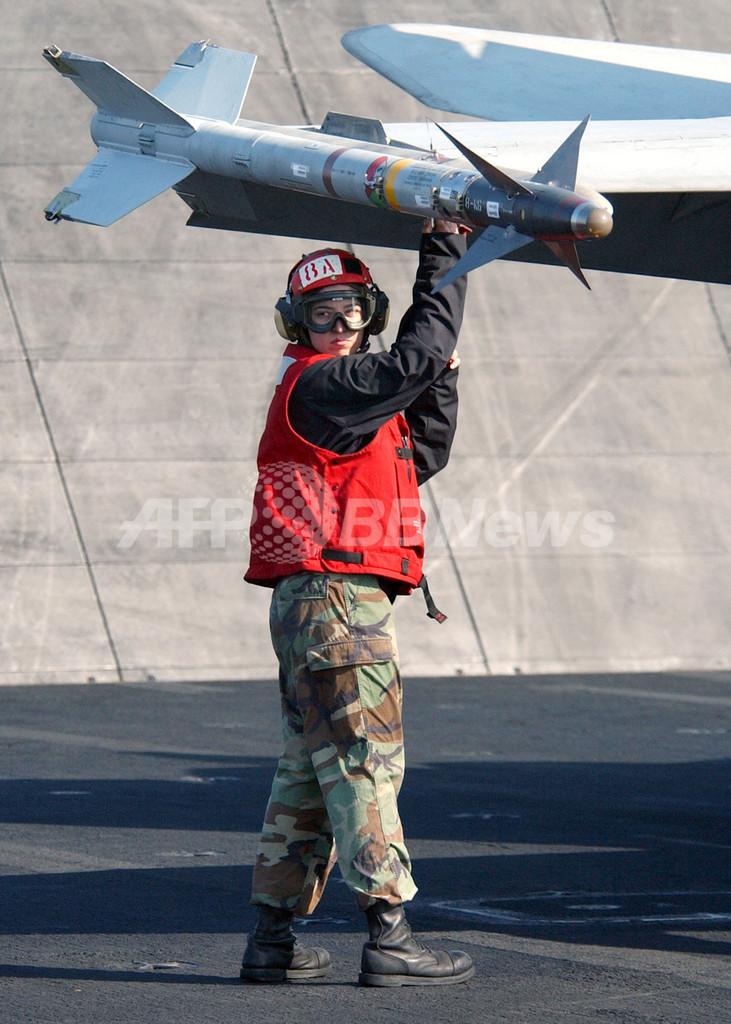 釣り上げた大物はなんと「ミサイル」、米フロリダの漁師