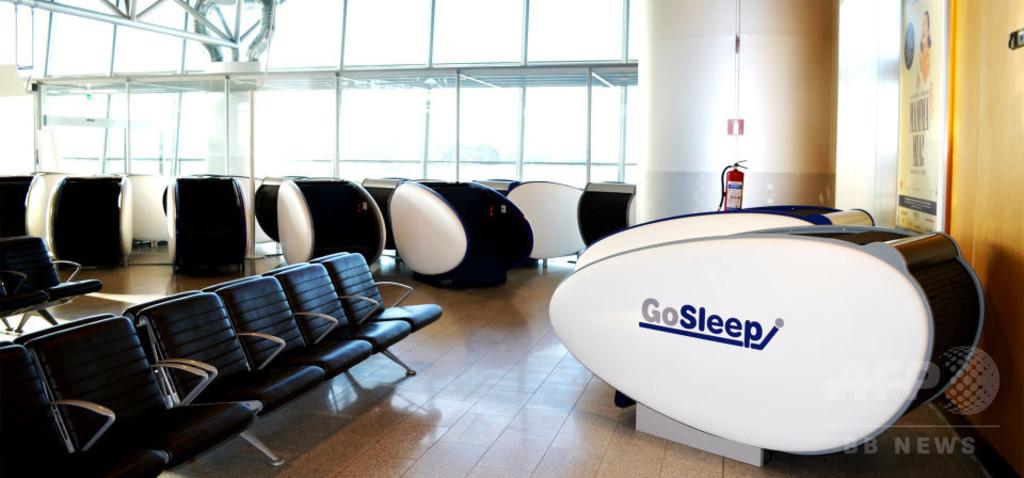 欧州初、ヘルシンキ空港にスリープポッドが登場