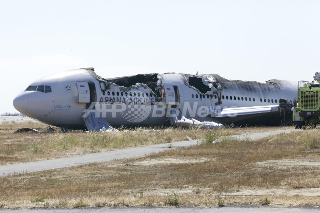 アシアナ機の乗客、ボーイング相手取り集団訴訟