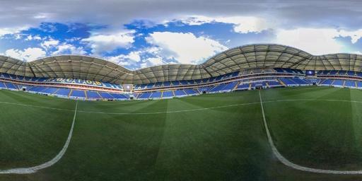 【360°パノラマ写真】ロシアW杯の会場、ロストフ・アリーナ