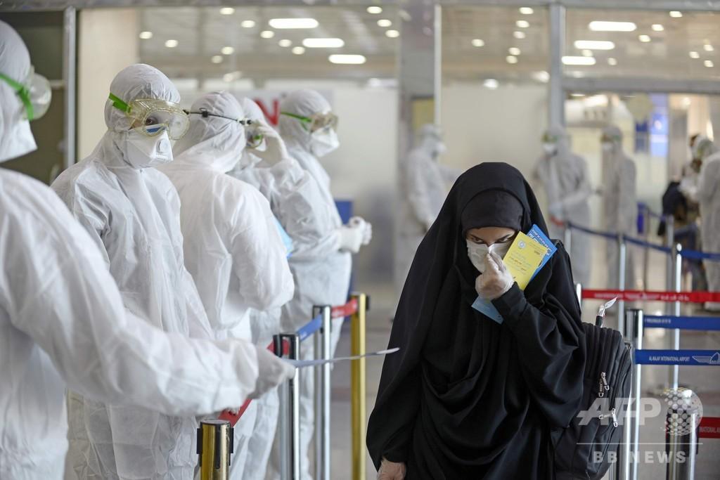 イラン、新型コロナ死者145人に ウイルス対策妨害と米を批判