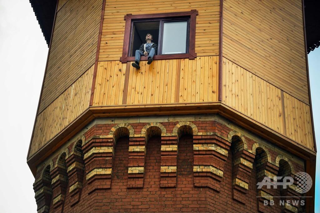 眺めは最高! 築125年の給水塔を住宅に ロシア