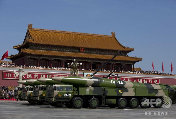 中国の兵器開発「一部で世界に先行」 米国防総省が報告