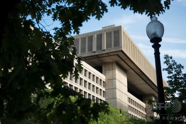 トランプ米大統領、FBIを非難 「情報漏えい防げていない」