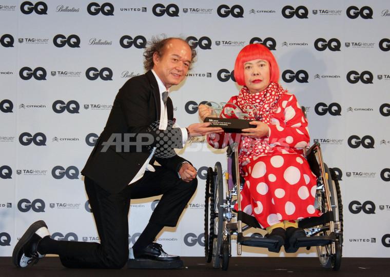 「GQ Men of the Year 2012」豪華な顔ぶれ一堂に、草間彌生も受賞