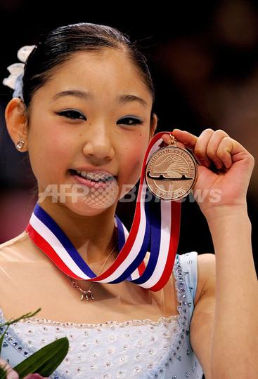 長洲未来 全米選手権女子シングルで優勝