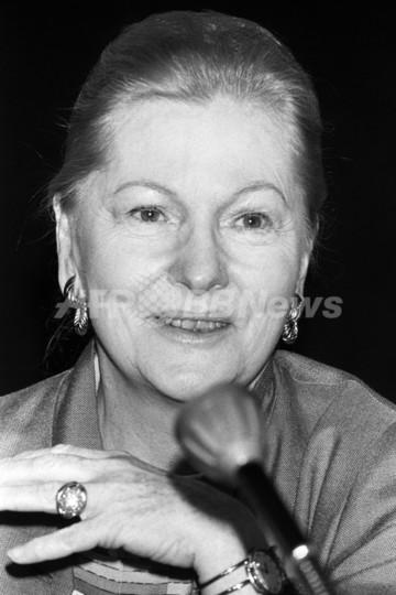『断崖』のオスカー女優J・フォンテインさん死去 96歳