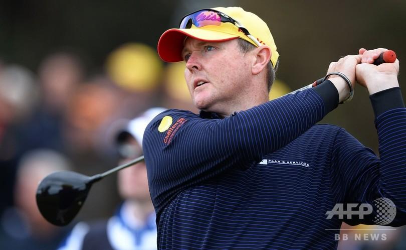 豪ゴルファーのライル、白血病の治療断念 応援の声に感謝