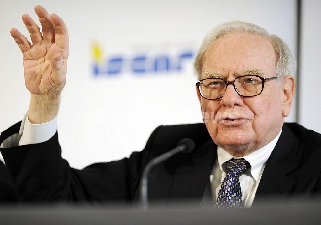 バフェット氏の投資会社、米ゴールドマンに巨額投資