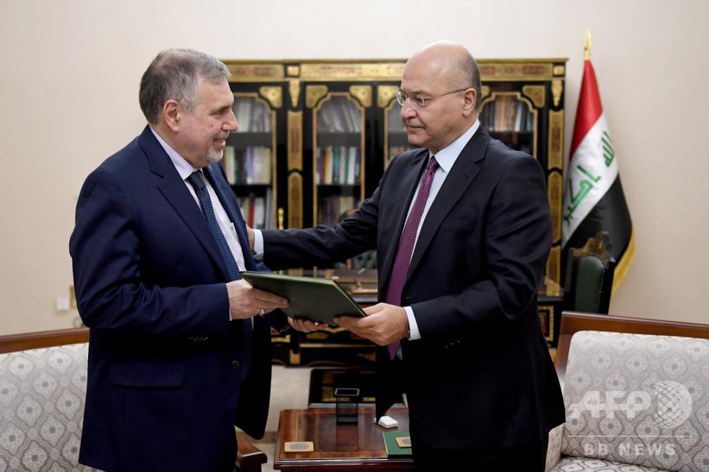 イラク首相候補のアラウィ氏、辞退を発表 組閣断念