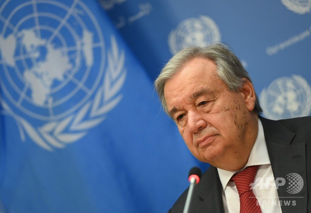 新型コロナめぐる誤情報がまん延、国連総長が警告