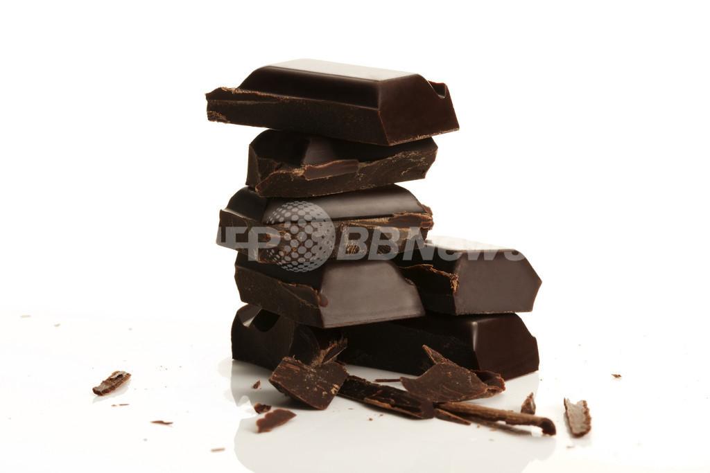 チョコレートに結腸がんの予防効果、スペイン研究