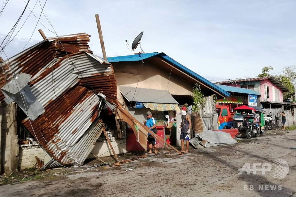 台風29号、クリスマスのフィリピンに大きな被害 少なくとも16人死亡