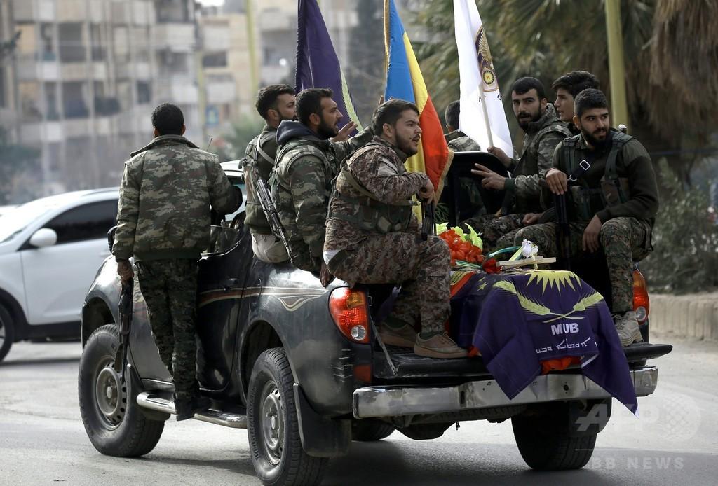 米、ISと戦うクルド人部隊に武器供与へ トルコの反発必至