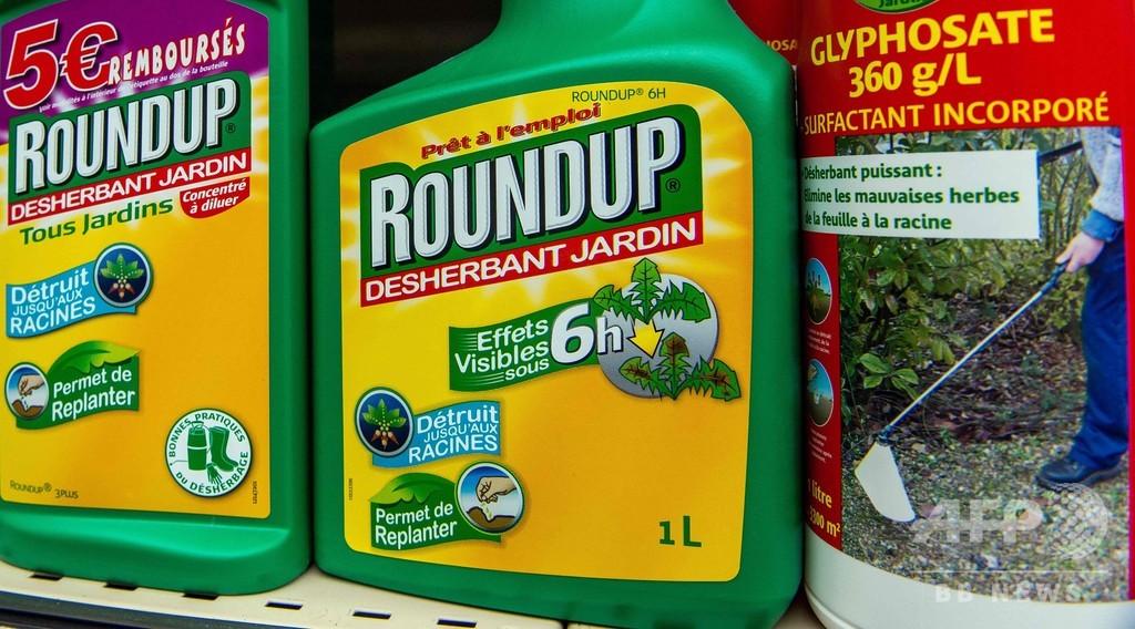 除草剤ラウンドアップ、フランスで即日販売禁止に