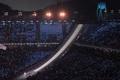 平昌冬季五輪が開幕、韓国と北朝鮮の選手は合同で入場
