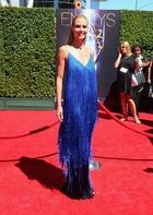 ハイディ・クルム、「クリエイティブ・アーツ・エミー賞」授賞式で着用したのは・・・