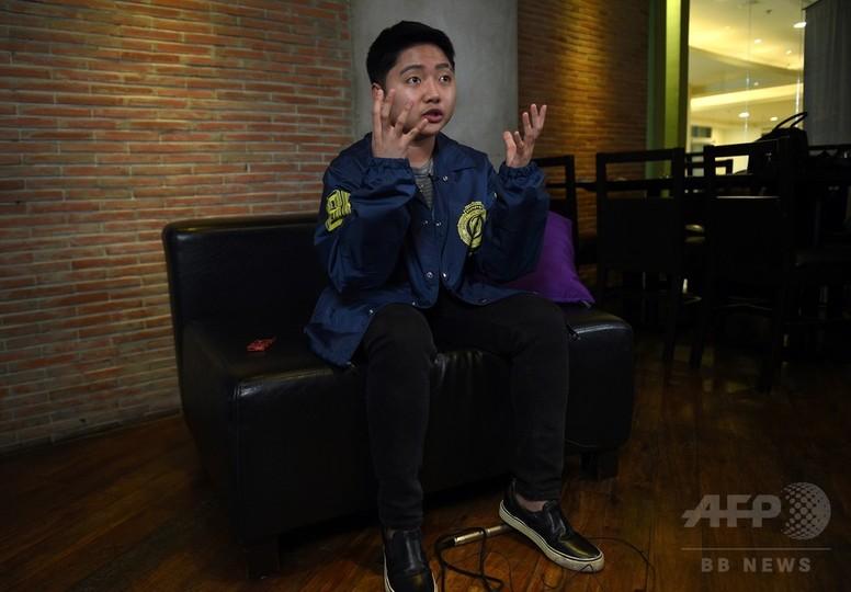 「Glee」のスター、フィリピンの壁破る トランスジェンダーのアイコン