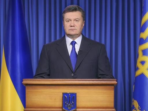 ウクライナ衝突、大統領が「停戦」合意を発表