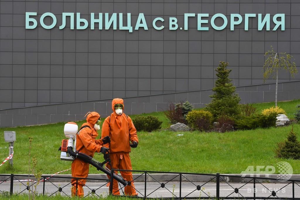 呼吸器から出火? 病院火災でコロナ患者5人死亡 ロシア