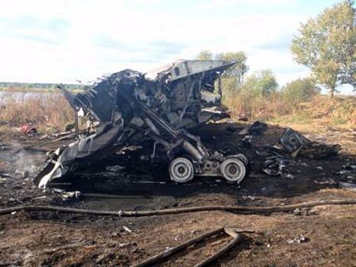 ロシアでプロアイスホッケーチーム乗せた旅客機墜落、43人死亡