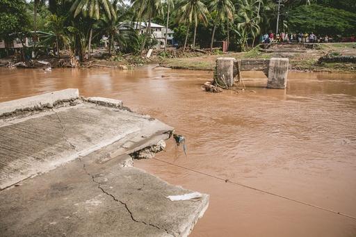 ソロモン諸島ホニアラの洪水、不明者の捜索続く 死者21人に