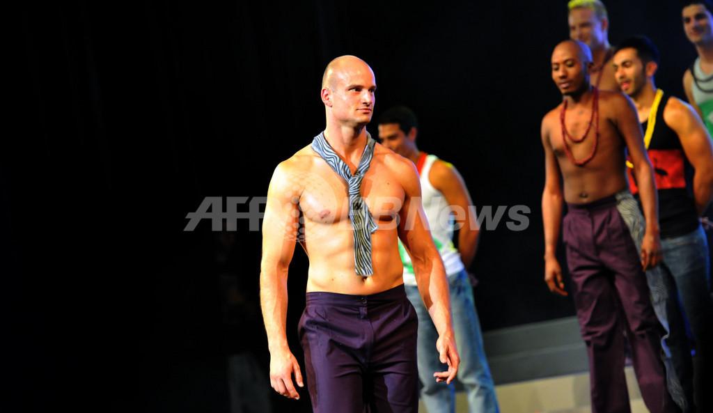 2012年の「ミスター・ゲイ・ワールド」はニュージーランド代表、南アフリカ