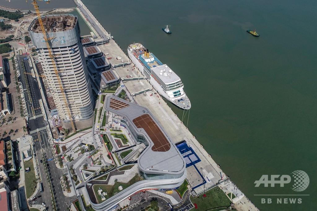 中国最大の大型クルーズ船ターミナルが運営開始