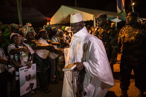 ガンビア前大統領、着服額は56億円 現政権が汚職追及