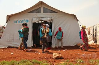 シリア、年初から4か月で92万人超が国内避難民に 過去最高の水準