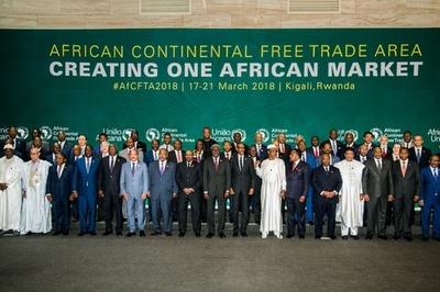 アフリカ自由貿易圏の発足で合意 44か国 ナイジェリアは署名見送り
