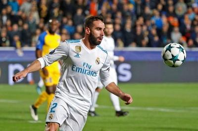 カルバハルが「故意に」警告を受けた可能性、UEFAが調査開始