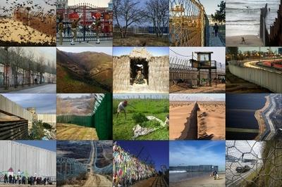 【写真特集】国境や境界線を隔てる壁、フェンスのある風景