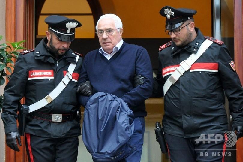 伊警察、マフィアの新ボスをシチリア島で逮捕