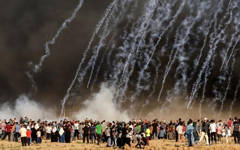 イスラエル軍、ガザ地区を空爆 「テロ行為への報復」と主張