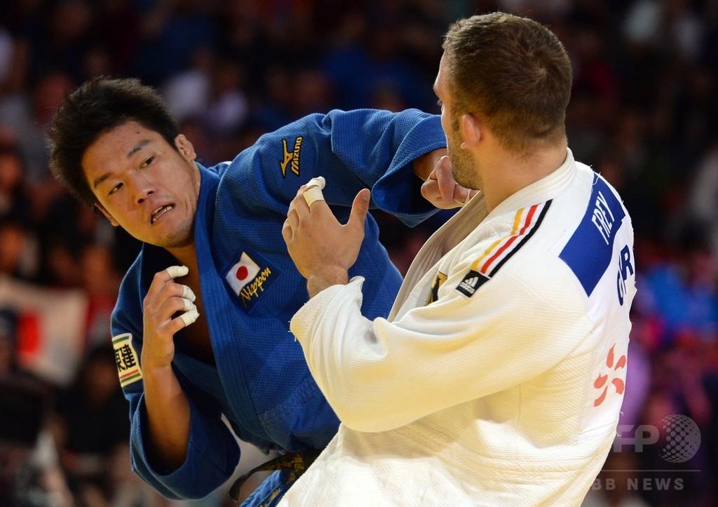 羽賀龍之介、男子100キロ級制しリオにはずみ 世界柔道