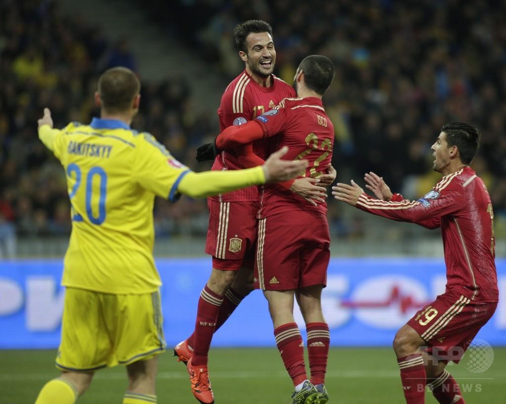 対 ウクライナ スペイン