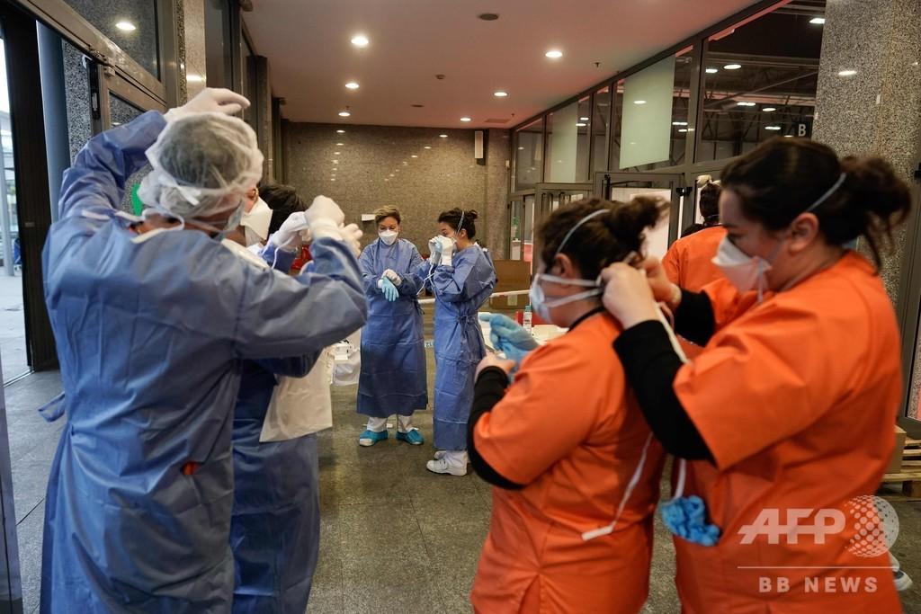 ペット診療から人命救助へ 欧州の獣医師ら、新型コロナ治療をバックアップ