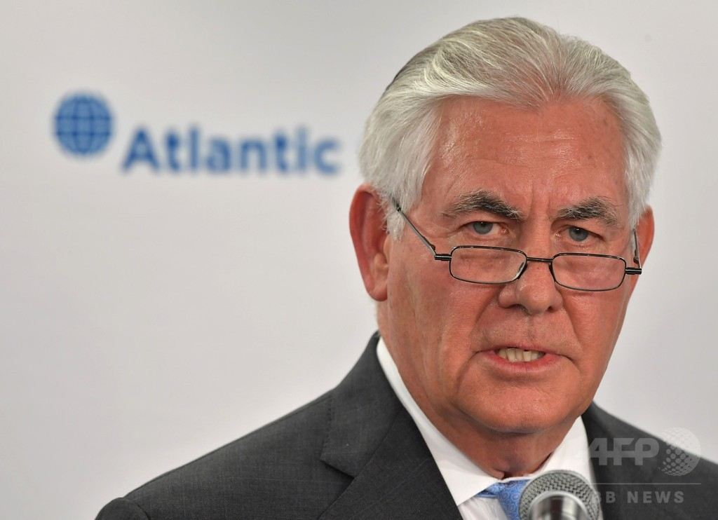 北朝鮮核問題、「前提なし」で対話開始の用意 米国務長官