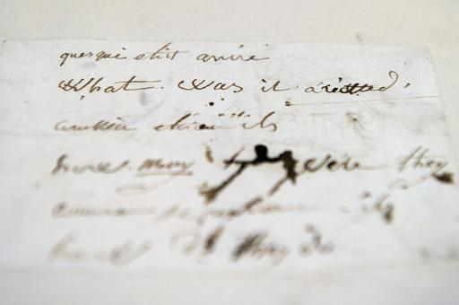 ナポレオンは英語を勉強していた、証拠の紙片を1100万円相当で落札