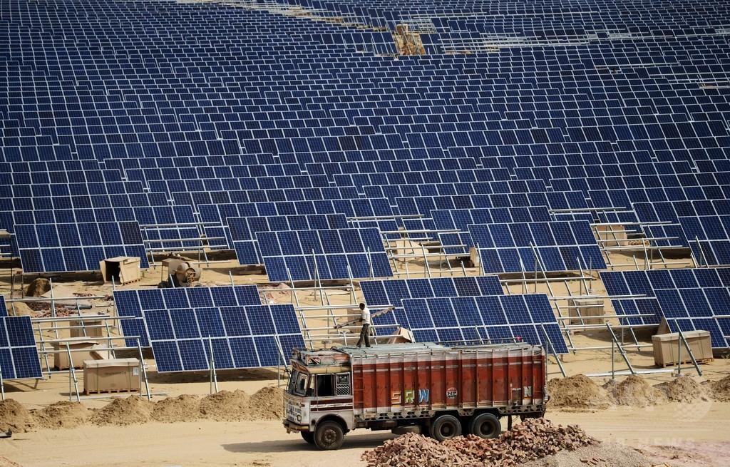 インド、COP21を前に太陽光発電強化掲げる