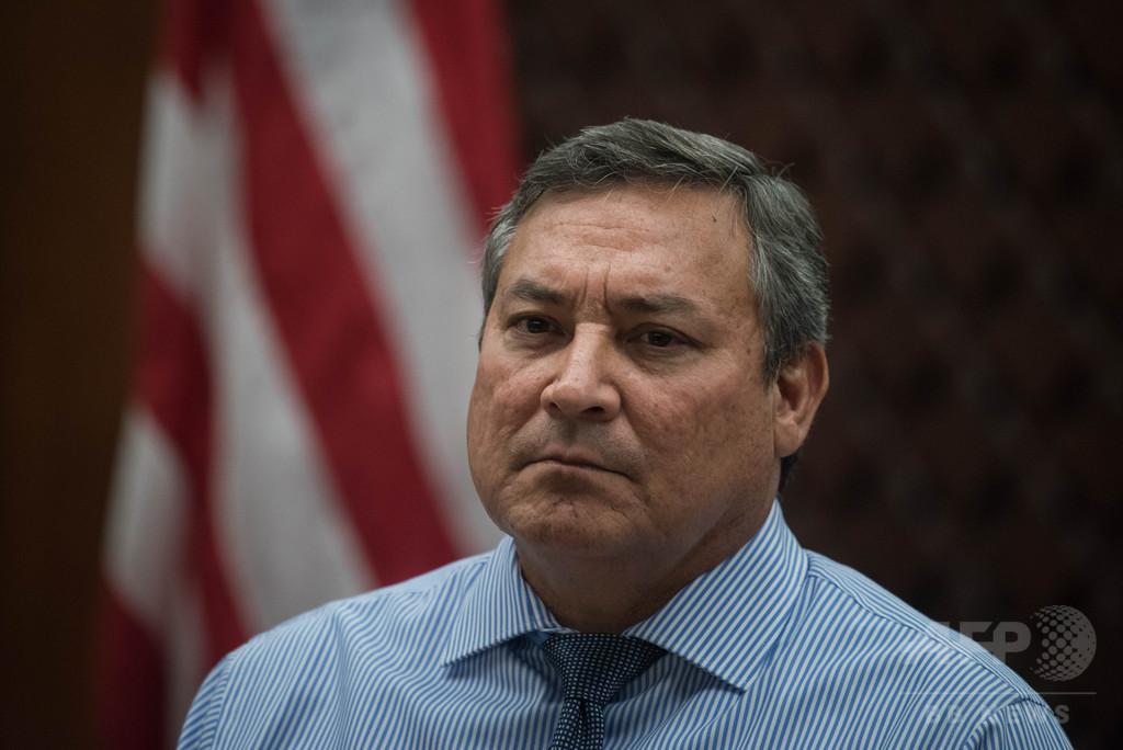 グアム知事、北朝鮮の「鼻っ面を殴らないと」 米大統領の対応擁護