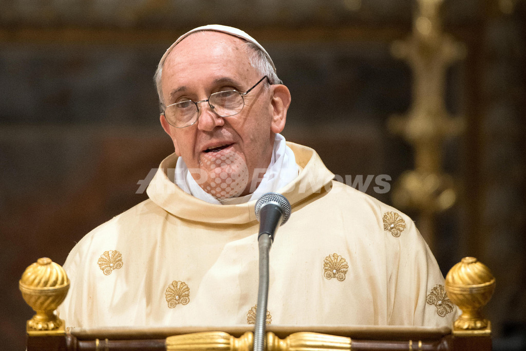 新ローマ法王、初のミサでカトリック教会の改革訴える