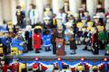 レゴブロックで大統領就任式、米カリフォルニア州