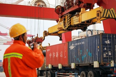 中国の貿易黒字、2018年は前年比16.2%減