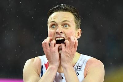 男子400H金の新鋭、ムンクの「叫び」ポーズで喜び表現 世界陸上