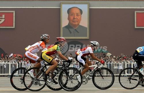 北京五輪最初の薬物違反は自転車...