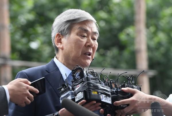 大韓航空会長、脱税容疑で聴取
