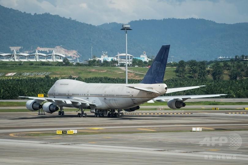 航空機3機放置?「所有者名乗り出て」 マレーシア